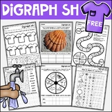 FREE Digraph Activities | Read, Write & Spell SH Words | W