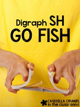 Digraph SH Go Fish Game