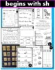 Digraph SH Phonics Practice Printables and Activities (Beg
