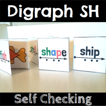 Digraph SH Self Checking Reading and Blending Cards