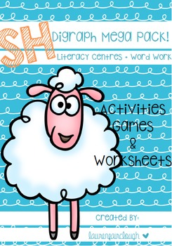 Digraph SH Word Work Pack