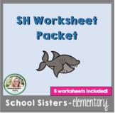 Digraph SH Worksheet