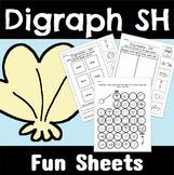 Digraph SH Worksheets