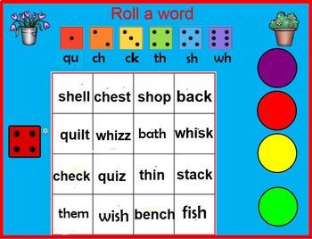 Digraph Activities for  Fundations Level 1 Unit 3 (RTI /Dyslexia)