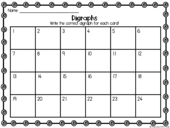 Digraph Scoot {task cards!}