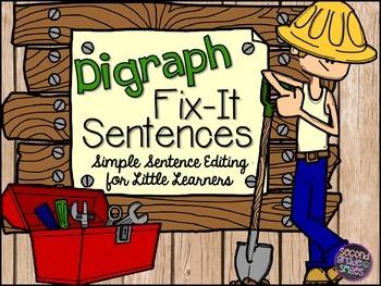 Digraphs Sentence Editing