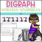 Digraph Sentence Scrambles - SH