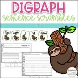 Digraph Sentence Scrambles - TH