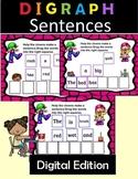 Digraph Sentences Level 1 Unit 3 for Google Slides