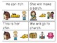 Digraph Sentences Read & Clip Cards