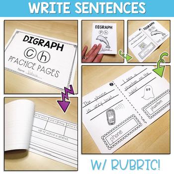 Using Digraphs in Sentences