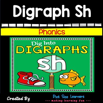 Digraph Sh No Prep Worksheets