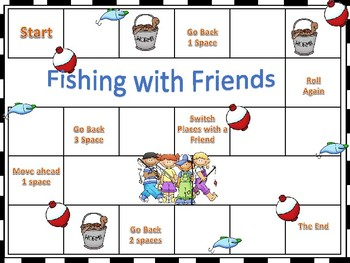 Digraph Sh! - Fishing  Friends!   Center games and activities!