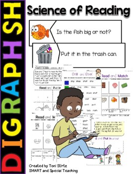 Digraph Sh Stories and Activities (Multisensory for struggling readers)