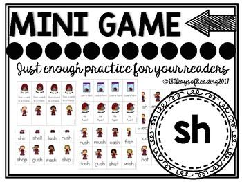 Digraph Sh Phonics Game