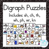 Digraph Sh, Th, Wh, Ch, Ph, Kn, & Wr Puzzles