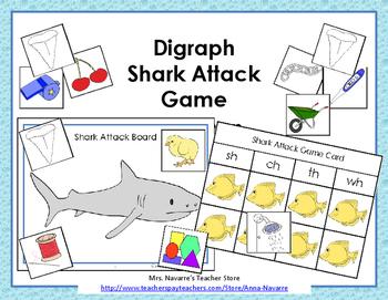 Digraph Shark Attack