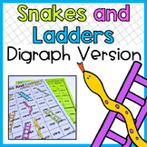 Digraph Snakes And Ladders Game Ch Sh Th Wh