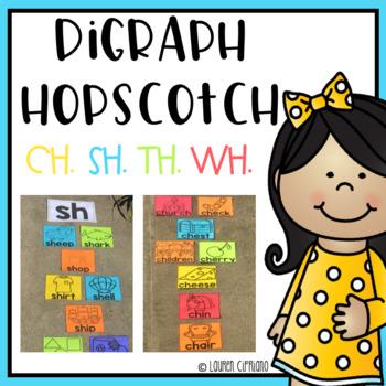 Digraph Hopscotch Activity Ch Sh Th Wh