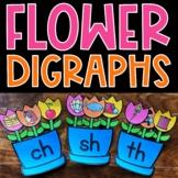 Beginning Consonant Digraphs SH TH WH CH Literacy Center S