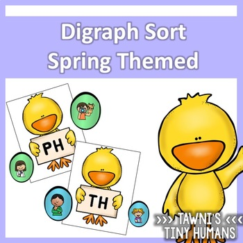 Digraph Sort - Spring Themed