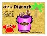 Digraph Sort (sh, ch, & th) ~Beach theme~