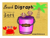 Digraph Sort (sh, ch, & th) ~Beach theme~