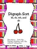 Digraph Sort (wh, sh, ch, tch, and th)