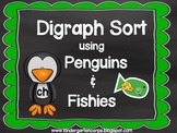 Digraph Sorting - CH, SH, TH, WH using Fish and Penguins