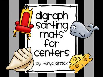 Digraph Sorting Mats for Centers