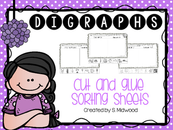 Digraph Sorting Worksheets