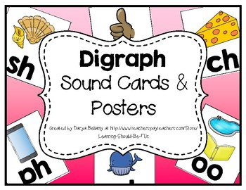 Digraph Sound Cards & Posters