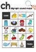 Digraph Sound Mazes + I Spy Games - CH sound