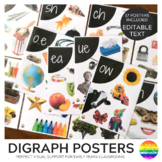 Digraph Sound Wall Posters