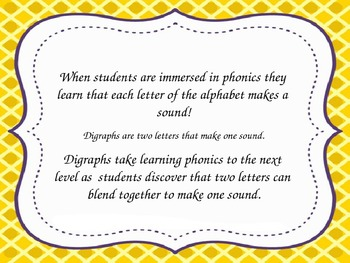 Digraph Spelling - PowerPoint - Flashcards