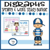 Digraph  Spelling and Word Study Bundle