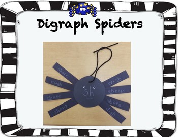 Digraph Spider Craft
