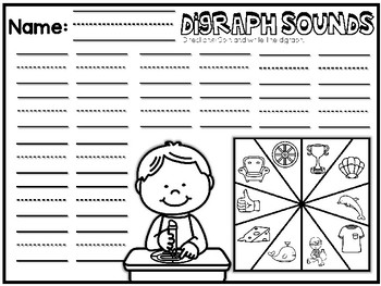 Digraph Spin It