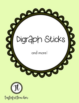Digraph Sticks (and more)