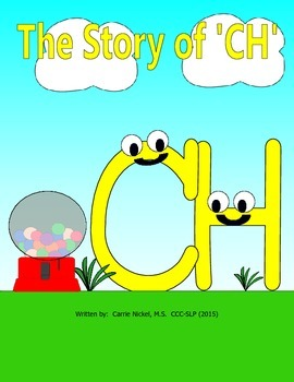 Digraph Stories for Kids: CH
