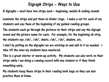 Digraph Strips