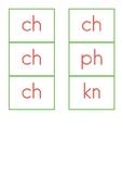 Digraph Strips - Teach th, sh, ch, wh, kn, and ph!