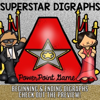Digraph Superstar PowerPoint Game