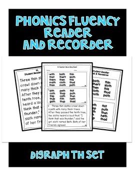 Digraph TH - Phonics Fluency Assessment