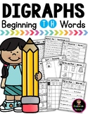 Digraph TH Practice and Worksheets