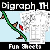 Digraph TH Worksheets
