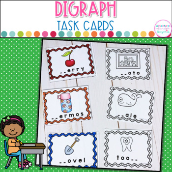 Digraph Task Cards