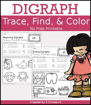 Digraph Trace, Find, & Color