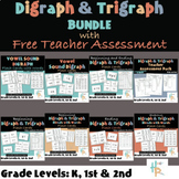 Digraph & Trigraph BUNDLE with Free Teacher Assessment
