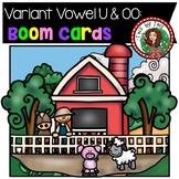 Digraph Variant Vowel U & OO BOOM Cards